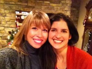 Susan Biard and Stephanie Leslie