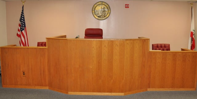 Mock Courtroom at South Coast College