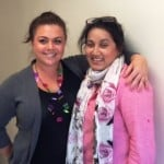 Alyssa French, RMA with Director of Medical Programs, Dr. Tehmina Khan