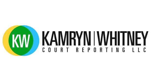 Kamryn Whitney Court Reporting Logo