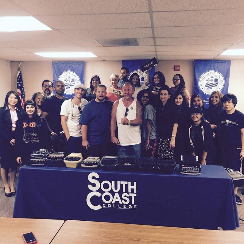 Storage Wars Cast at South Coast College
