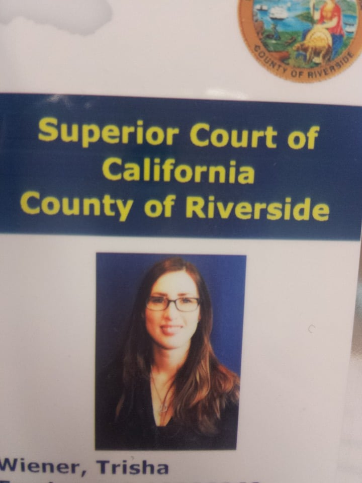Trisha Wiener, CSR, graduate of the Court Reporting Program at South Coast College in Orange